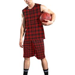 MacLeod Tartan All Over Print Basketball Uniform