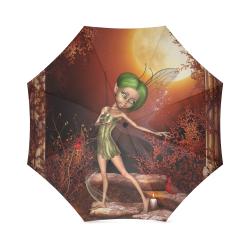 Cute little fairy Foldable Umbrella (Model U01)
