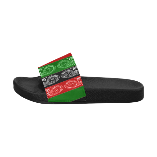 RBG FLAG Women's Slide Sandals (Model 057)