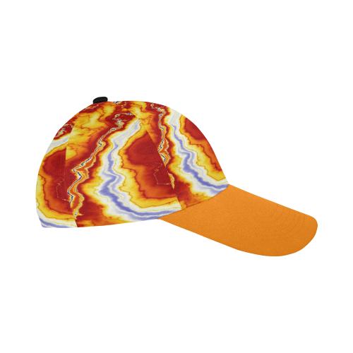 Marble Geode All Over Print Baseball Cap B