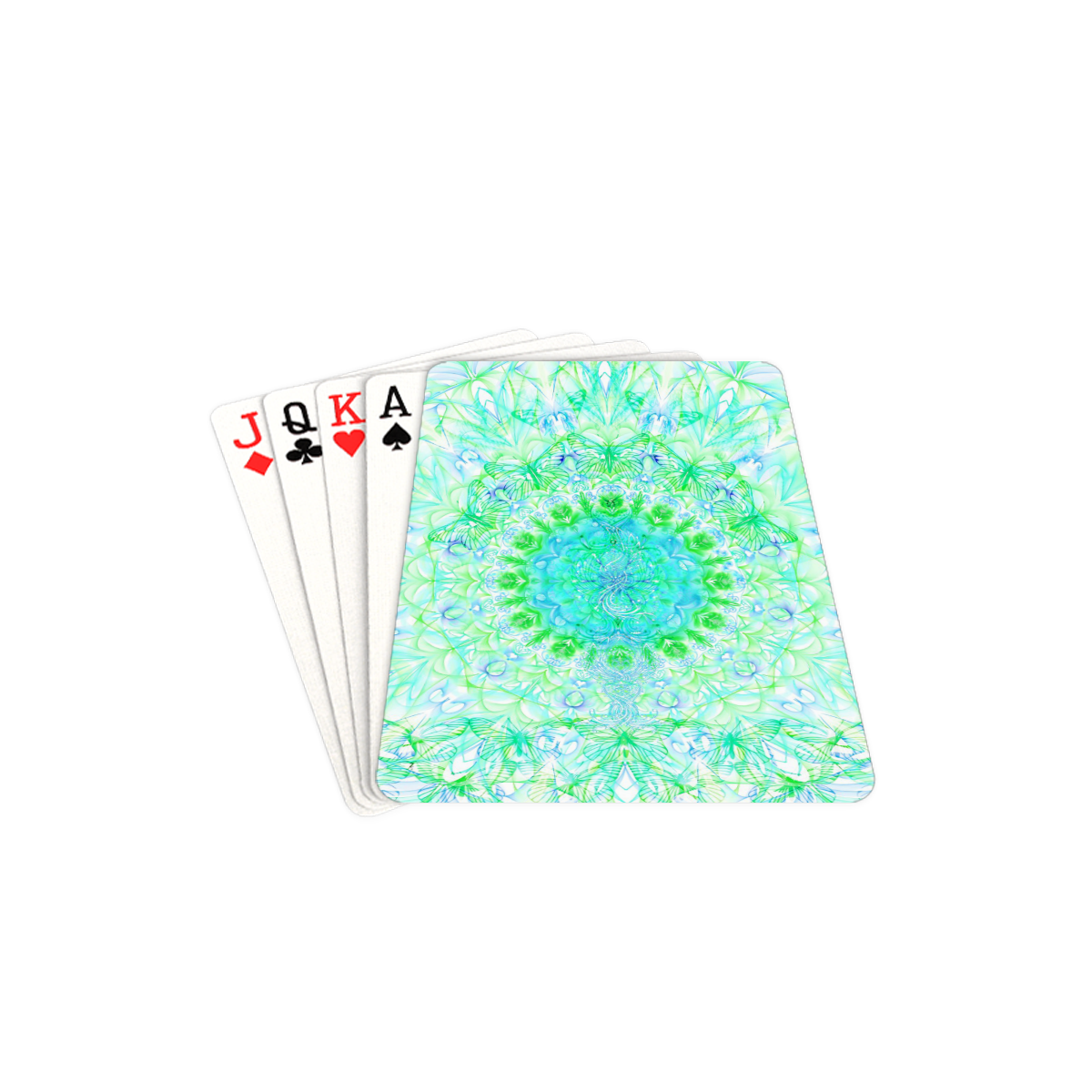 """petales 3 Playing Cards 2.5""""x3.5"""""""