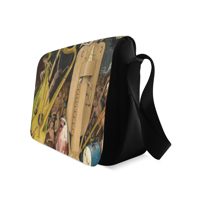 Hieronymus Bosch-The Garden of Earthly Delights (m Messenger Bag (Model 1628)