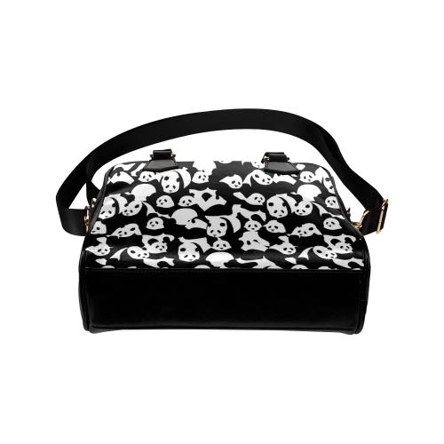 Panda Pattern Shoulder Handbag (Model 1634)