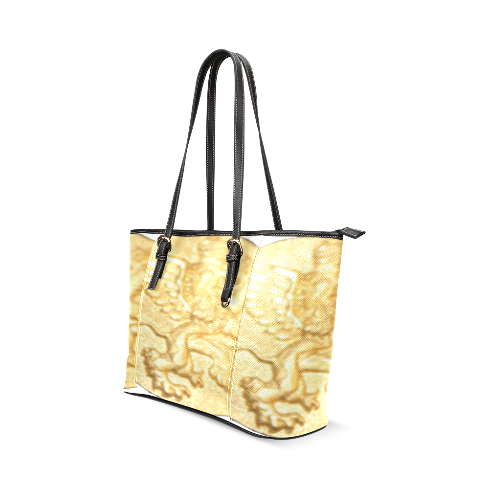 Intanjibles Leather Tote Bag/Large (Model 1640)