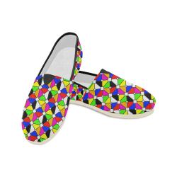 symmetrical pane Unisex Casual Shoes (Model 004)