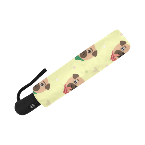 Pugs in Bandanas Auto-Foldable Umbrella (Model U04)