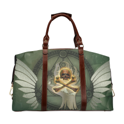 Skull in a hand Classic Travel Bag (Model 1643) Remake