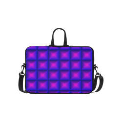 """Purple pink multicolored multiple squares Classic Sleeve for 15.6"""" MacBook Air"""