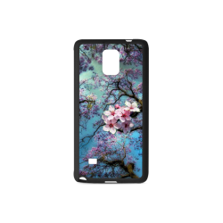 Cherry blossomL Rubber Case for Samsung Galaxy Note 4