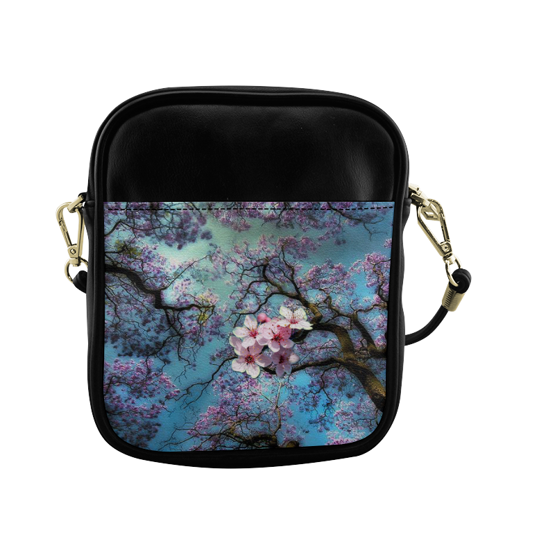 Cherry Blossoms Sling Bag (Model 1627)