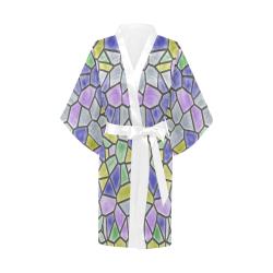 Mosaic Linda 5 by JamColors Kimono Robe