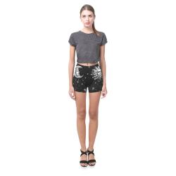 Mystic Moon and Sun Briseis Skinny Shorts (Model L04)