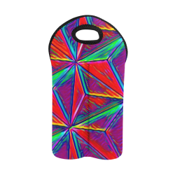 Vivid Life 1A by JamColors 2-Bottle Neoprene Wine Bag