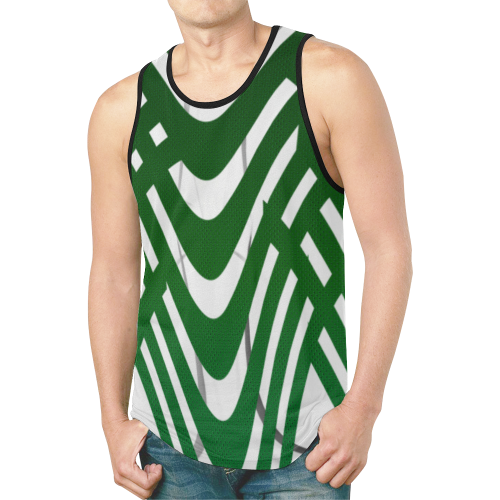 abstract_5500_2019_RBW_11h New All Over Print Tank Top for Men (Model T46)