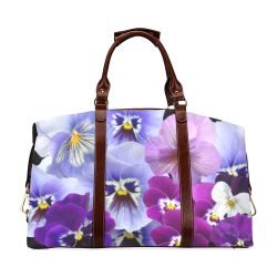 FLORAL DESIGN 40 Classic Travel Bag (Model 1643) Remake