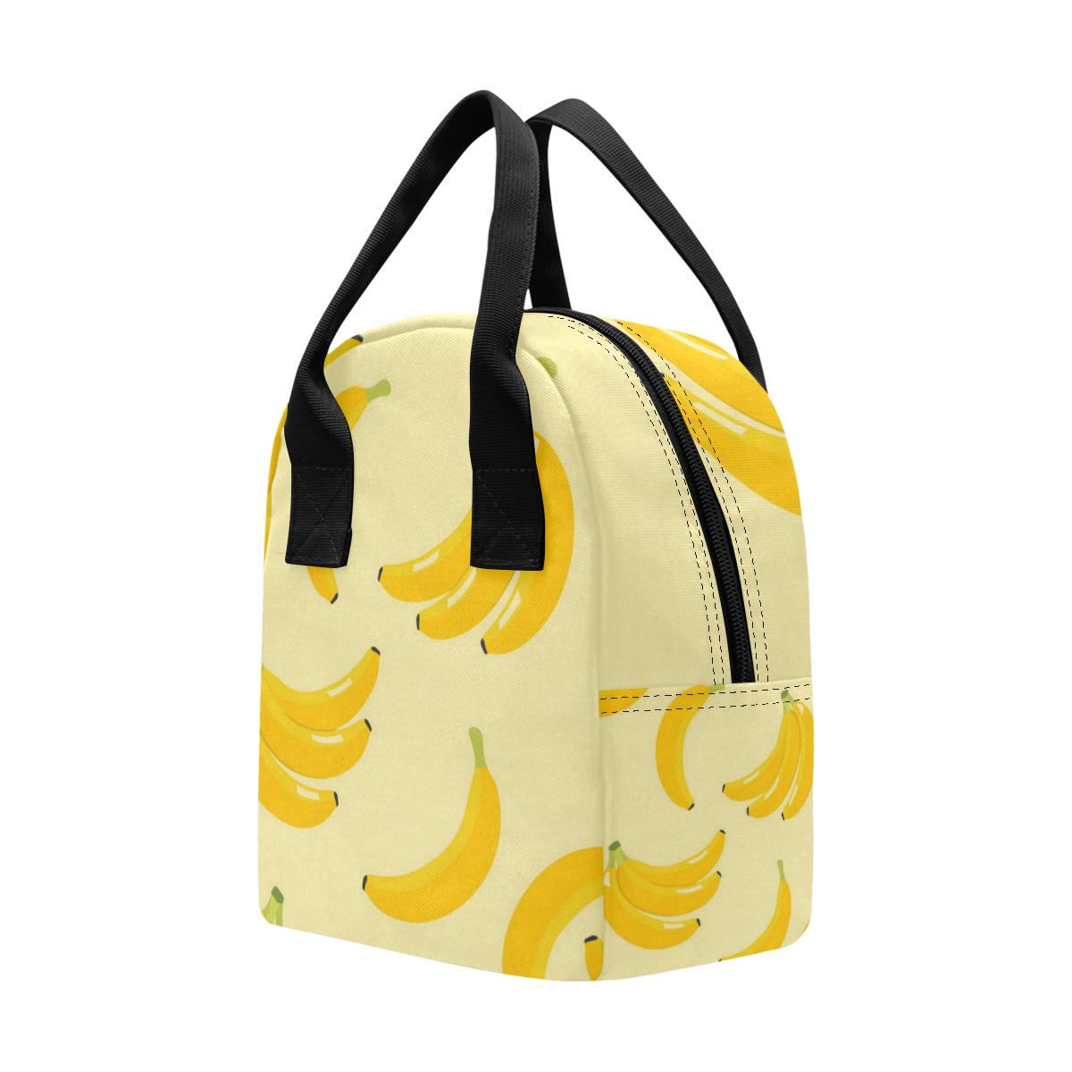 Banana Lunch Bag Zipper Lunch Bag (Model 1689)