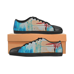 oil_h Women's Canvas Shoes (Model 016)