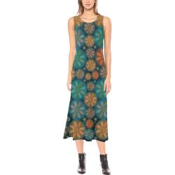 zappwaits flowers p4 Phaedra Sleeveless Open Fork Long Dress (Model D08)
