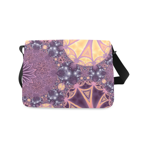Soft Colourful Tropics Messenger Bag (Model 1628)