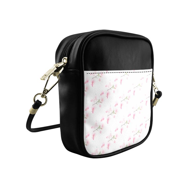 PATTERN ORCHIDÉES Sling Bag (Model 1627)