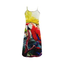 Parrot garden Alcestis Slip Dress (Model D05)