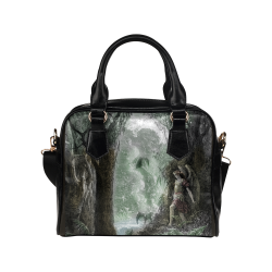 Paradise Lost Satan Hides In Paradise Shoulder Handbag (Model 1634)