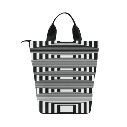 Can't make up my mind Nylon Lunch Tote Bag (Model 1670)