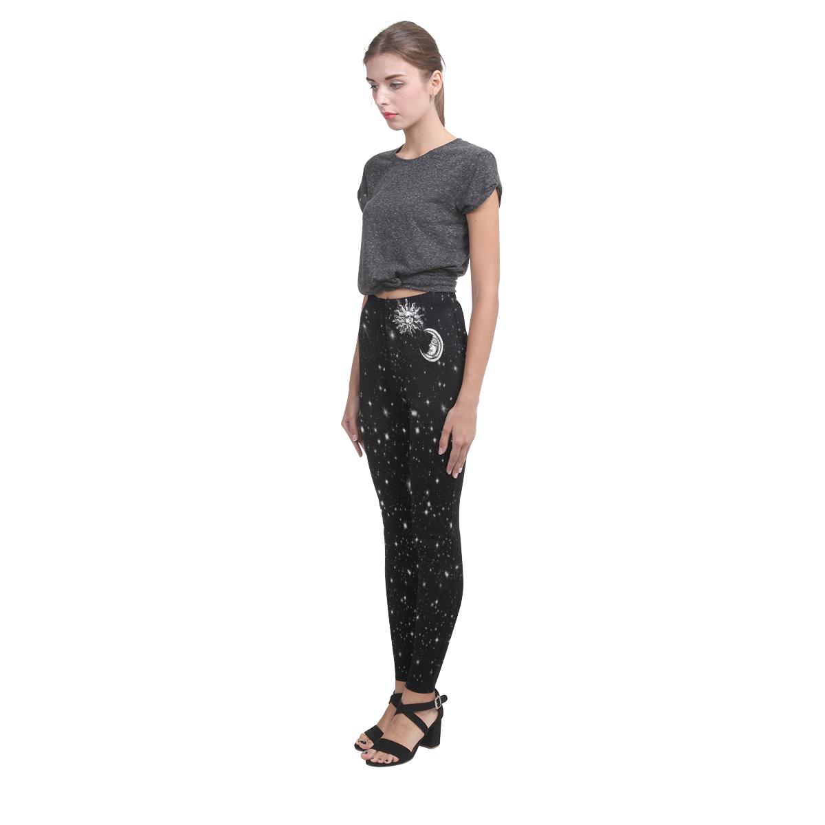 Mystic Moon and Sun Cassandra Women's Leggings (Model L01)