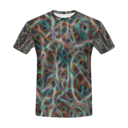 Gaia - 096 All Over Print T-Shirt for Men (USA Size) (Model T40)