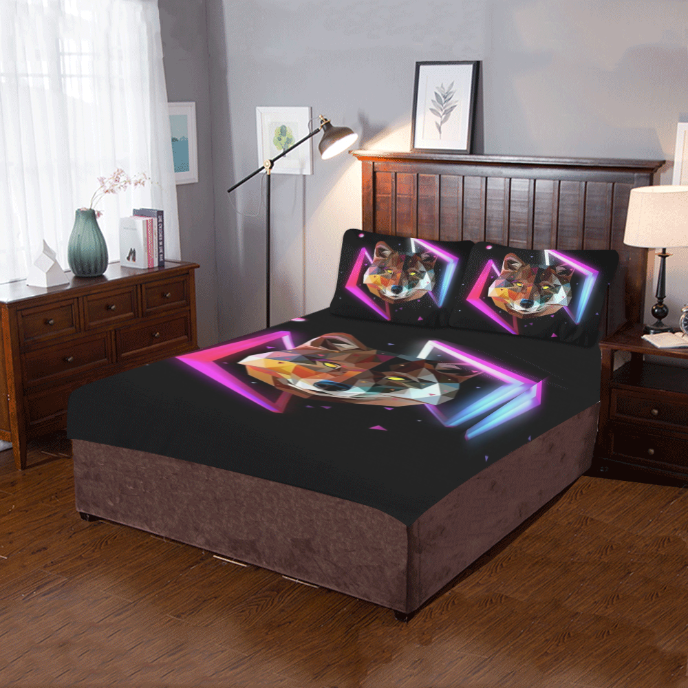 3dart 3-Piece Bedding Set