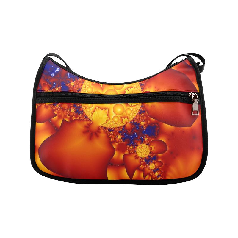 Planetary Fire Crossbody Bags (Model 1616)