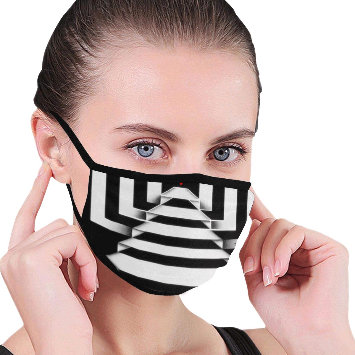 Geometric 1287 Mouth Mask