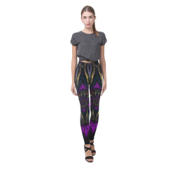 vortex triangles Cassandra Women's Leggings (Model L01)