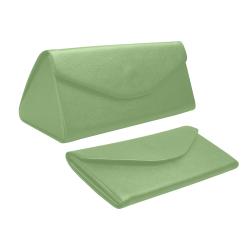 color asparagus Custom Foldable Glasses Case