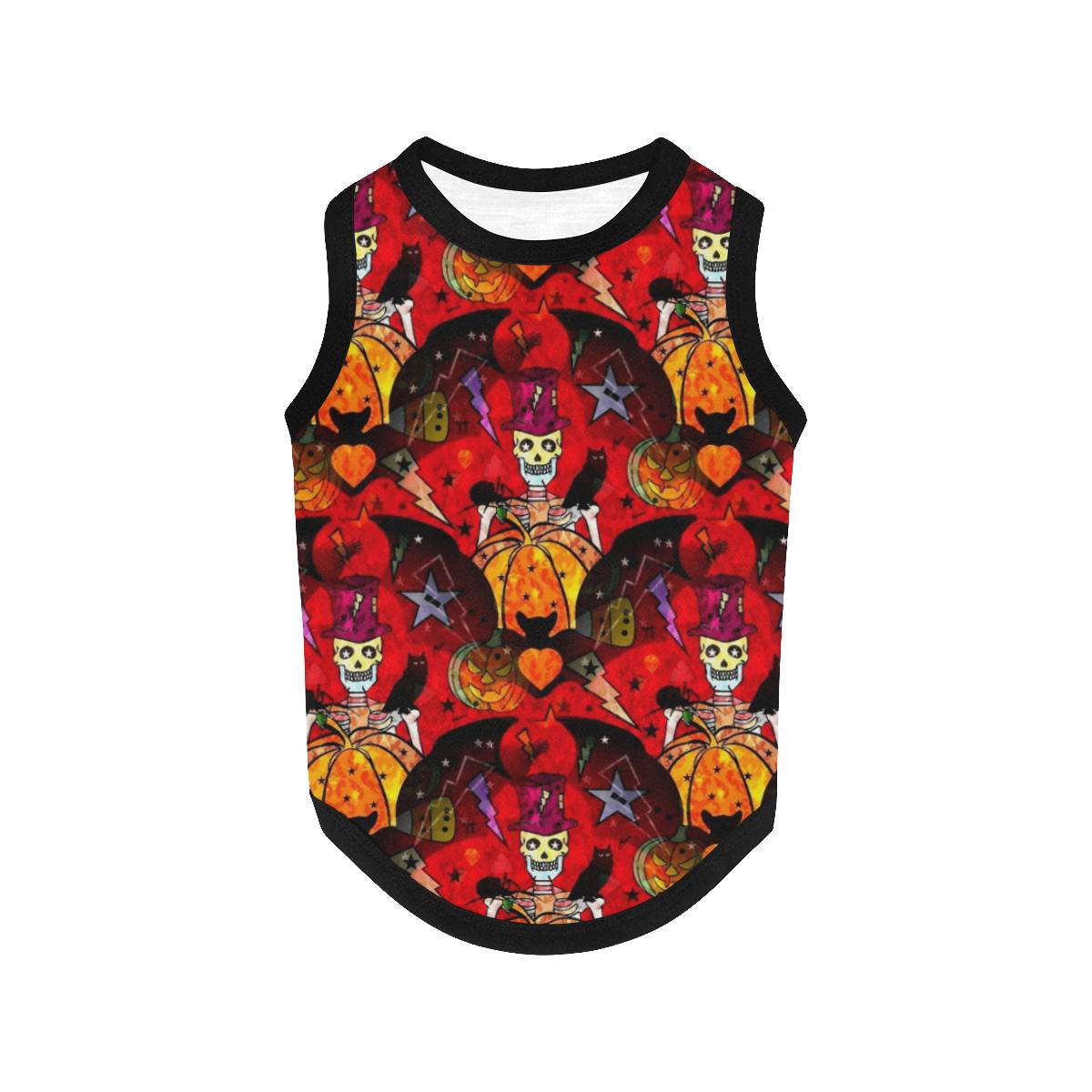 Halloween by Nico Bielow All Over Print Pet Tank Top