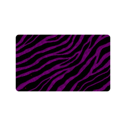 "Ripped SpaceTime Stripes - Purple Doormat 30""x18"""