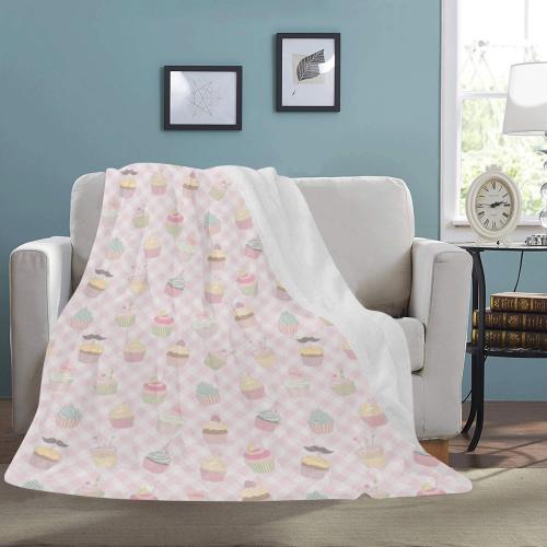 Cupcakes Ultra-Soft Micro Fleece Blanket 54''x70''