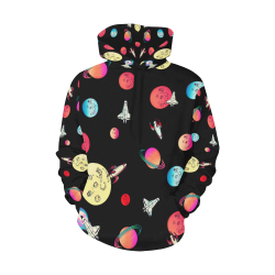 Far Out Hoodie All Over Print Hoodie for Women (USA Size) (Model H13)