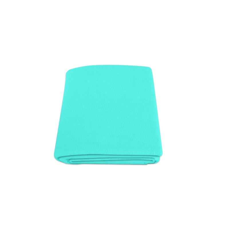 """Neon Turquoise Blanket 50""""x60"""""""