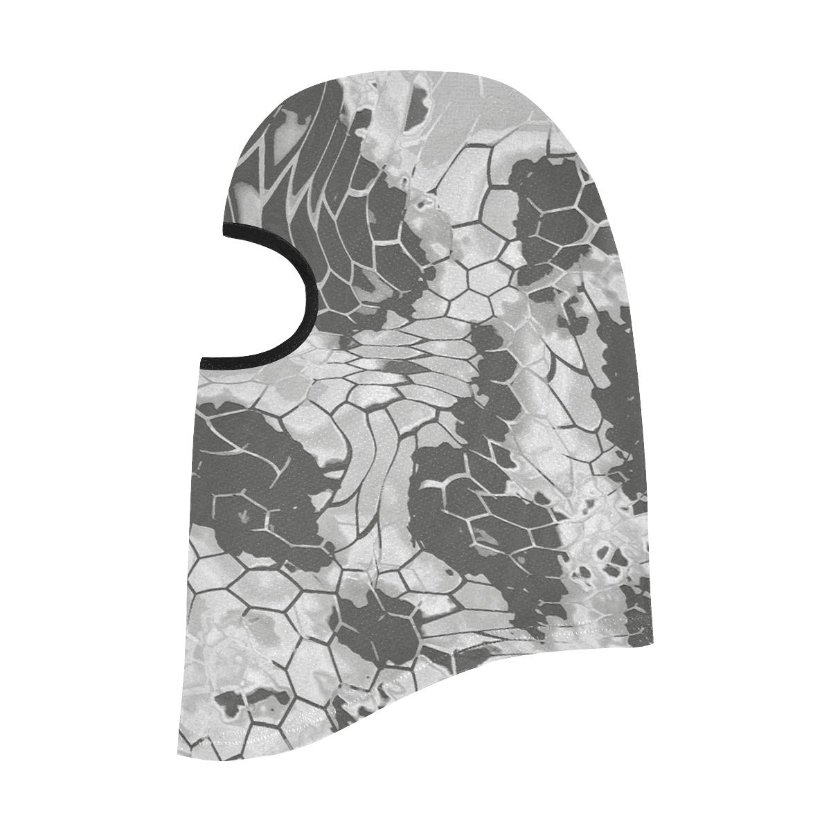 grey dragon reptile snakeskin All Over Print Balaclava