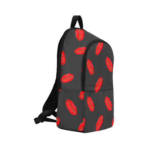 lips pattern 2 Fabric Backpack for Adult (Model 1659)
