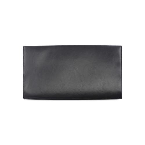 Black Tartan Clutch Bag (Model 1630)