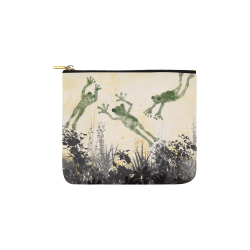 fogs art drawing painting by agnes laczo Carry-All Pouch 6''x5''
