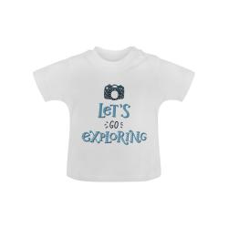 Let's go Exploring - Camera Baby Classic T-Shirt (Model T30)