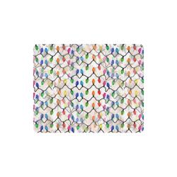 Christmas Lights by Nico Bielow Rectangle Mousepad