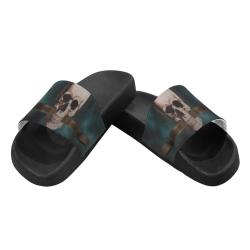 THE SKULL Women's Slide Sandals (Model 057)