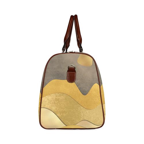 sun space #modern #art Waterproof Travel Bag/Small (Model 1639)
