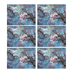 Cherry blossomL Placemat 14'' x 19'' (Six Pieces)