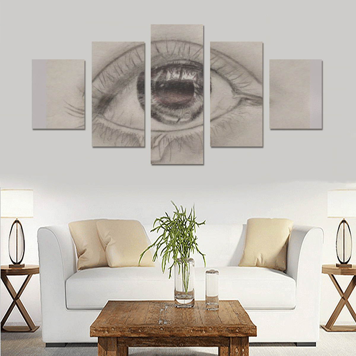 Screenshot_20200306-162054 Canvas Print Sets B (No Frame)