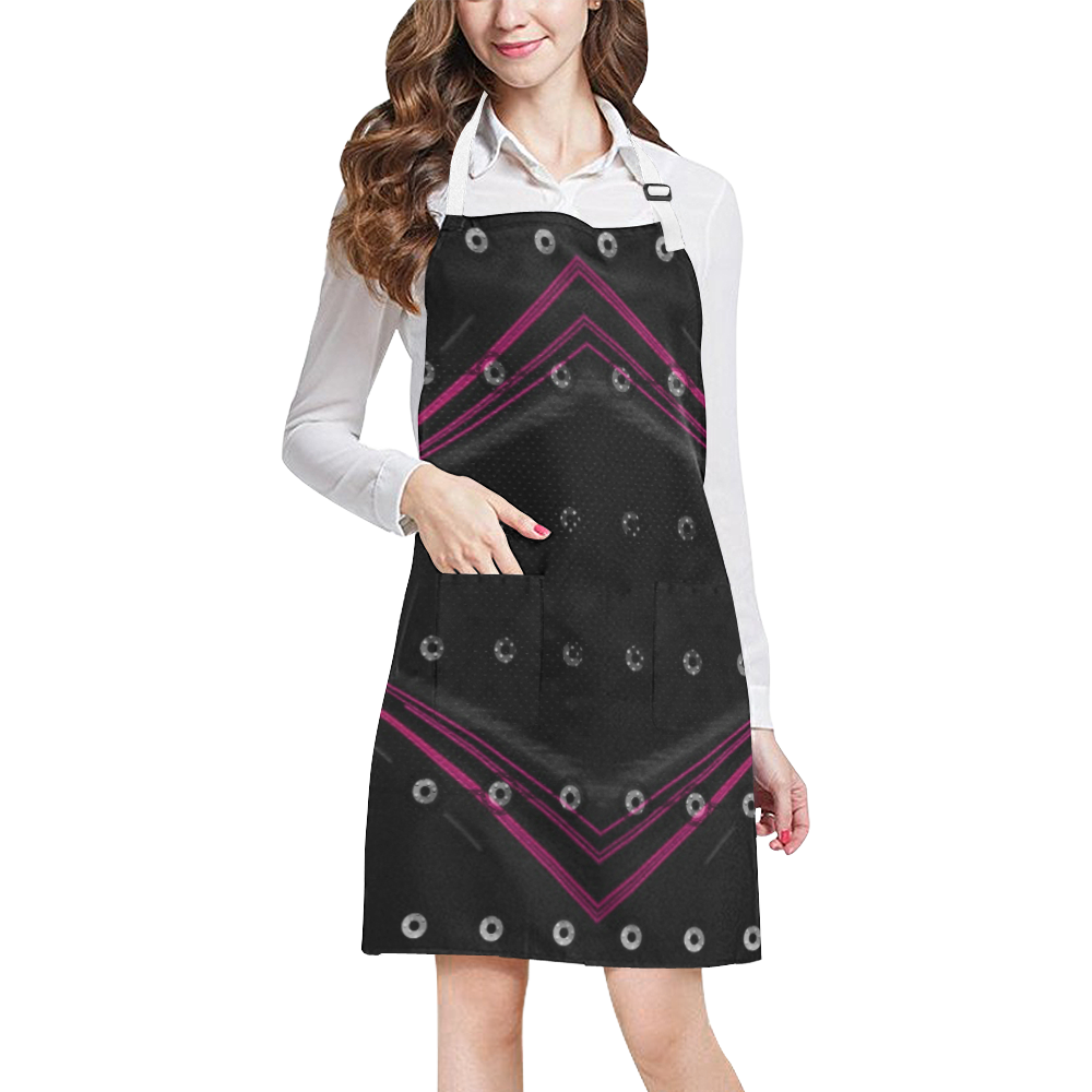 10000 art324 47 All Over Print Apron